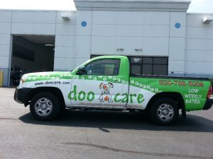 Chicago Commercial Truck Wraps doo care drivers 300x225